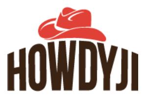 Only Use Howdiji Logo